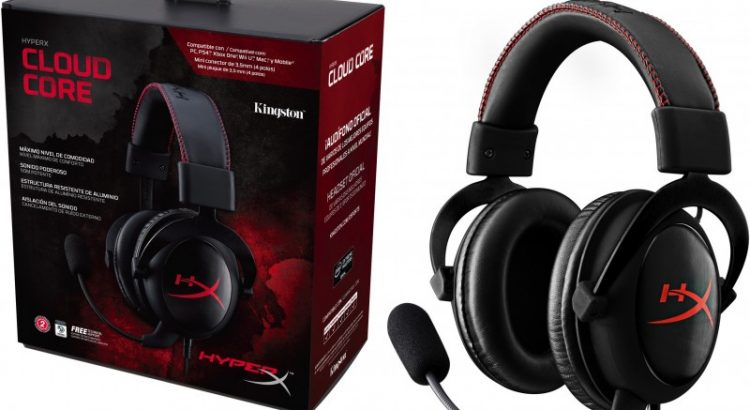 headset kingston hyperx cloud core