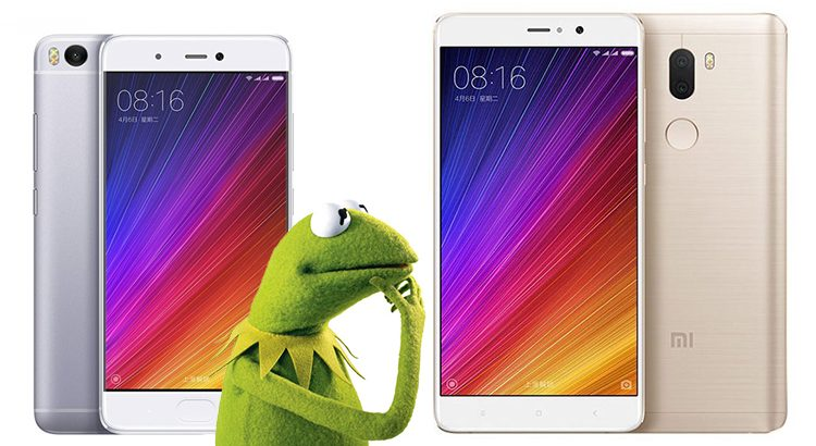 comparativo xiaomi mi5s vs plus