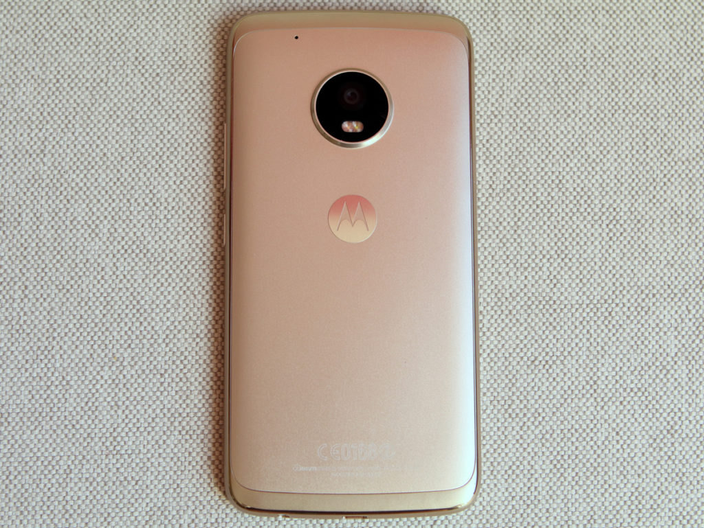 Traseira do Motorola Moto G5 Plus - Review / Mobizoo