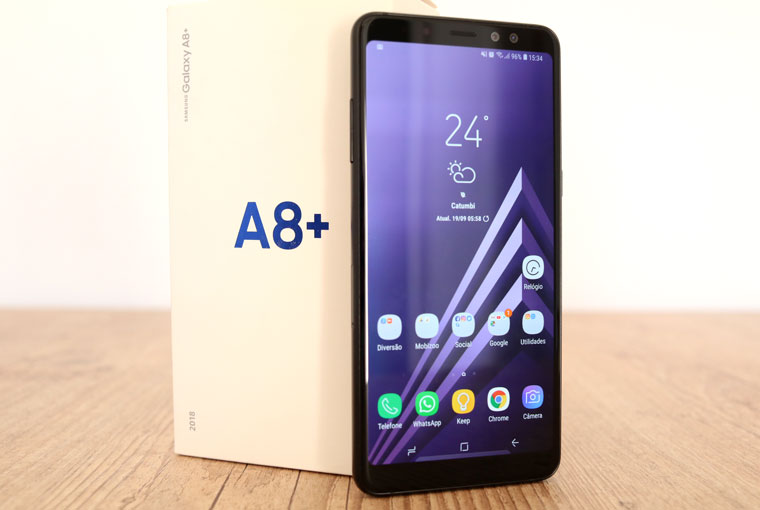 Review Galaxy A8 Plus: o executivo narcisista - Mobizoo