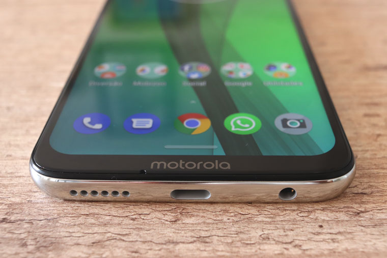 Motorola Moto G7: parte inferior - Review / Mobizoo